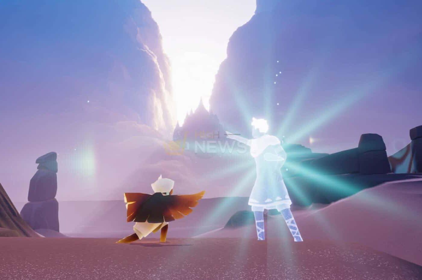 In the Sky Children of the Light