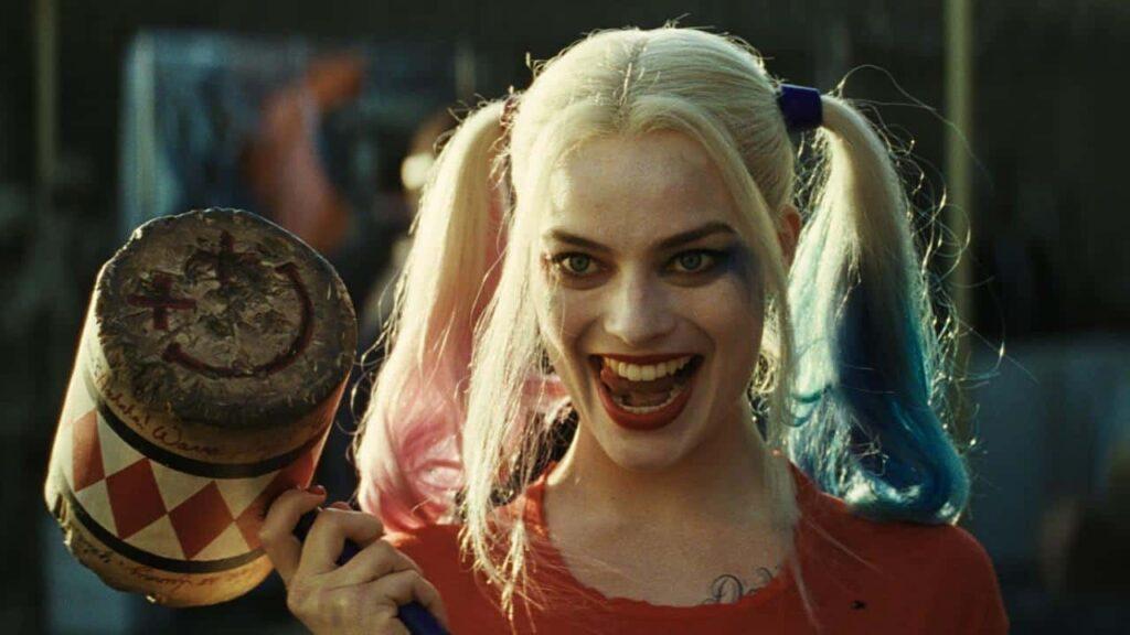 Photo de l'actrice margot Robbie en Harley Quinn