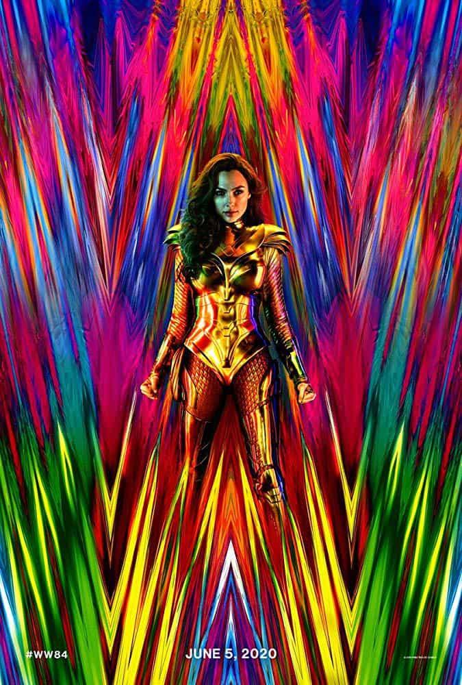 affiche du film de dceu : wonder woman