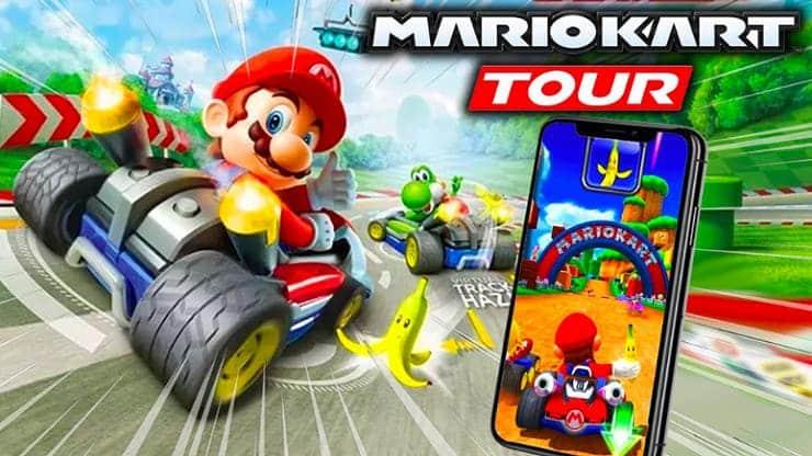 Mario Kart 8 Deluxe - Visite de Mario Kart
