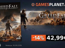 GreedFall - Borderlands 3