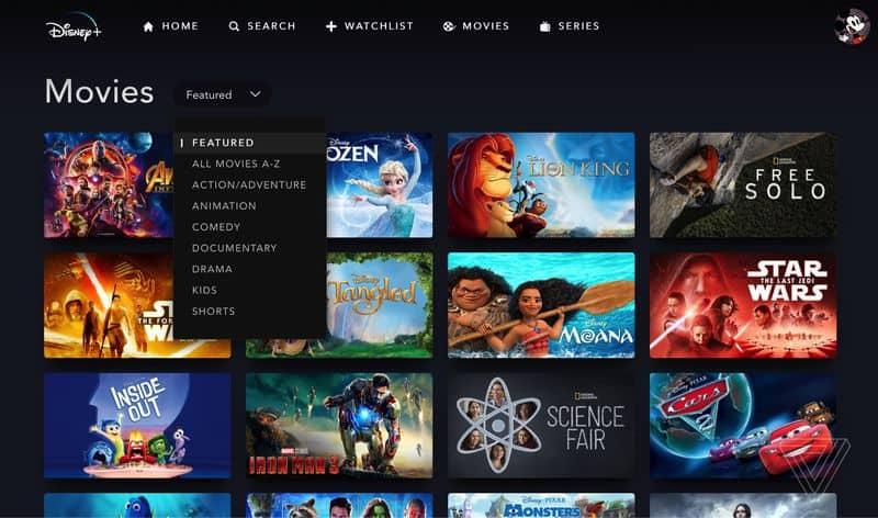 Disney + - Netflix