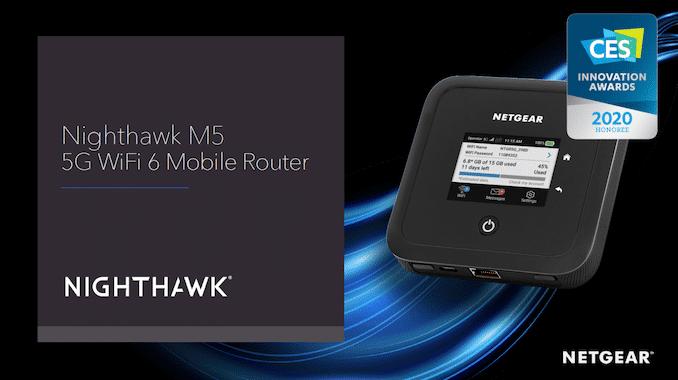 Netgear MR5200 Nighthawk M5 5G WiFi 6 - 2020 International CES