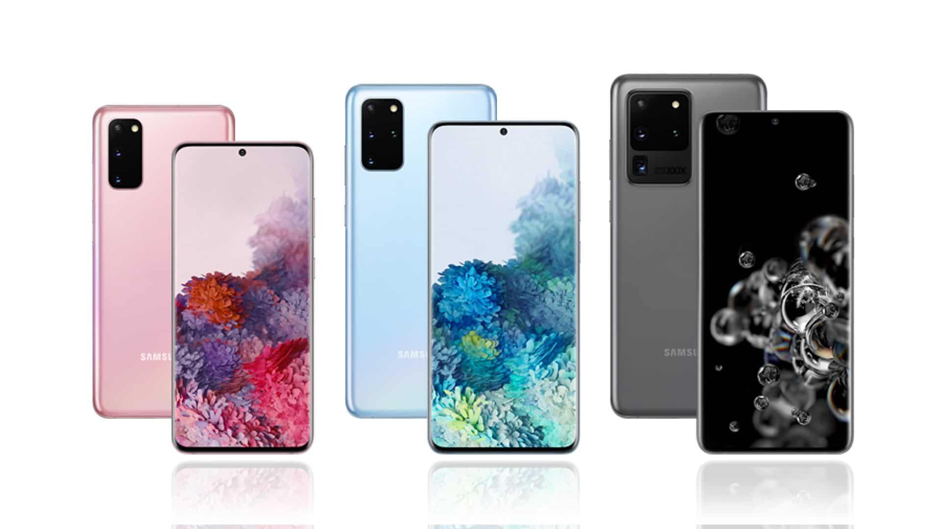 Samsung Galaxy S20 - Samsung Galaxy S20 +