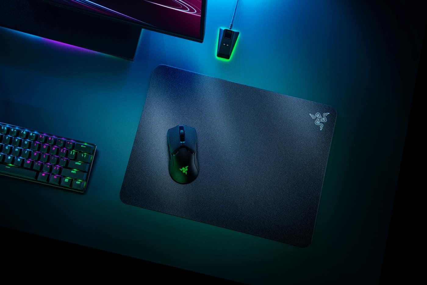 Souris d'ordinateur - Razer Acari Ultra Low Friction Gaming Mousemat Thin Hard Surface Antislip DI