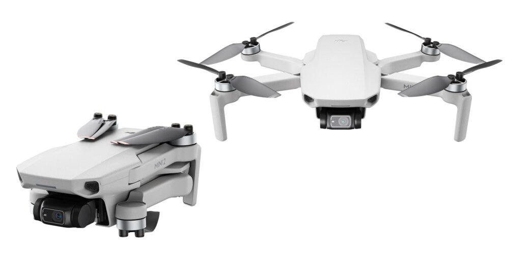 DJI-mini-2-drone-miniature-4K