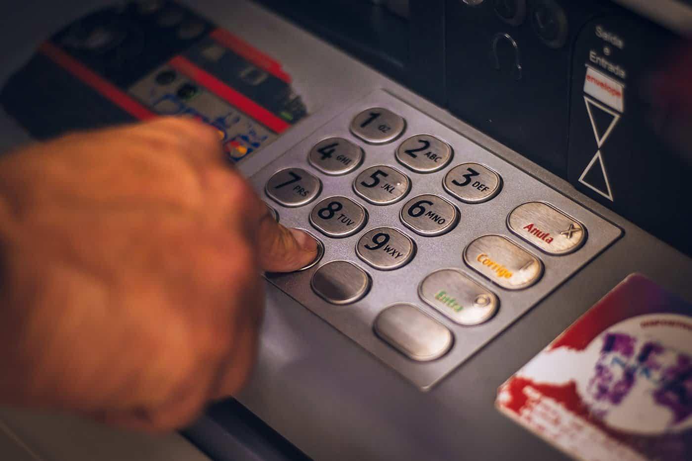 Guichet automatique de billet