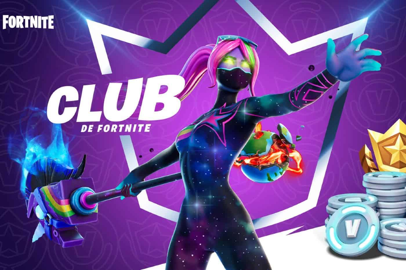 Le Club de Fortnite - Tenue Galaxia
