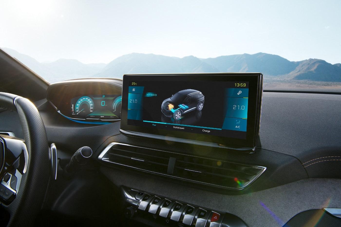 Peugeot 3008 e-3008 2020 Cockpite