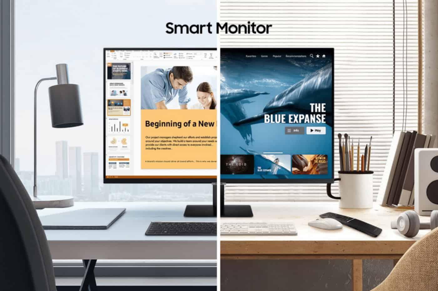Smart Monitor ecran pc samrt tv samsung