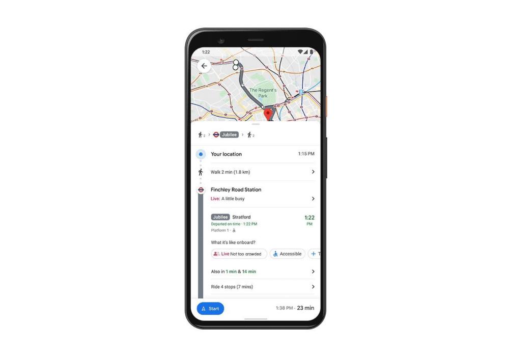 affluence-transports-en-commun-google-maps-covid-19