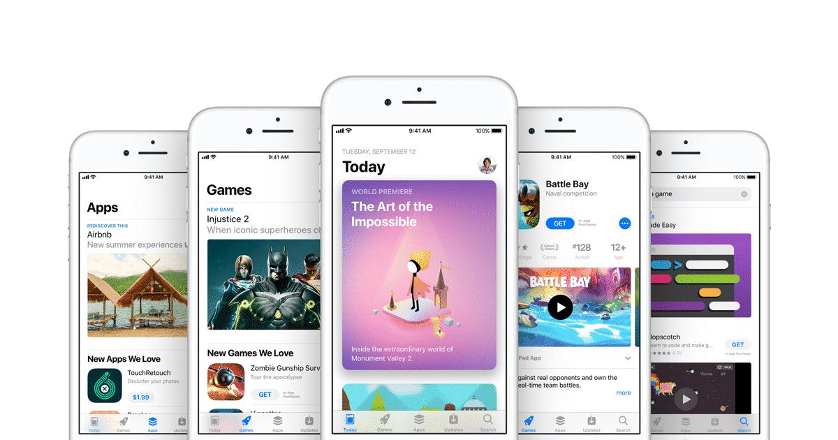 app store apple petits developpeurs