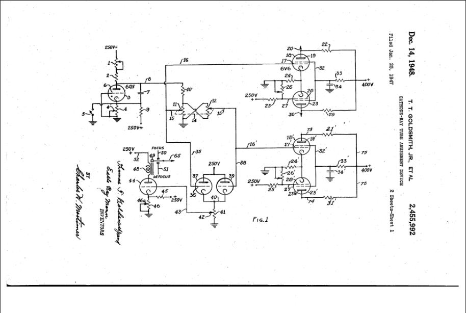Cathode-Ray Tube Amusement Device