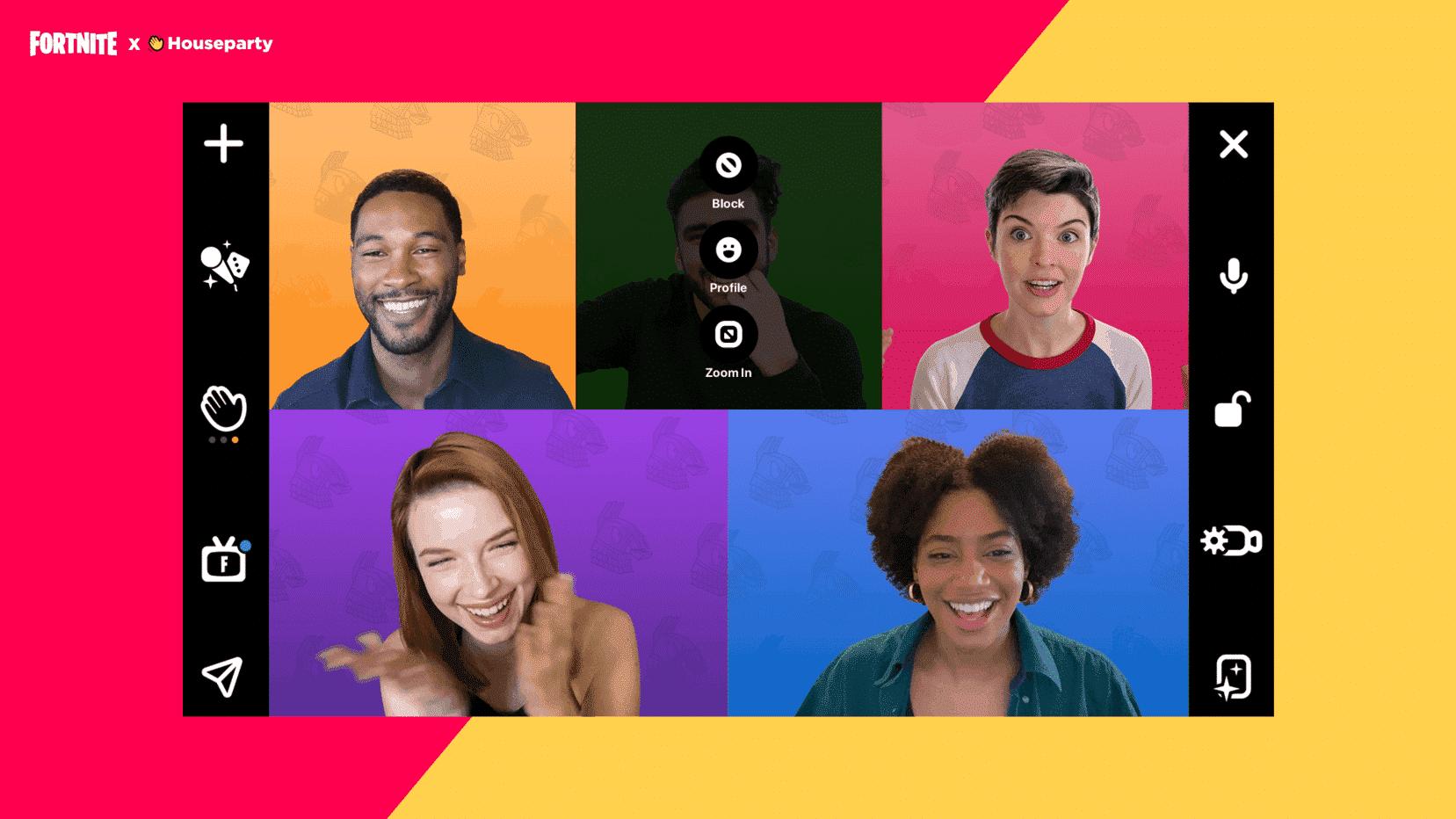 fortnite chat video Housepaty