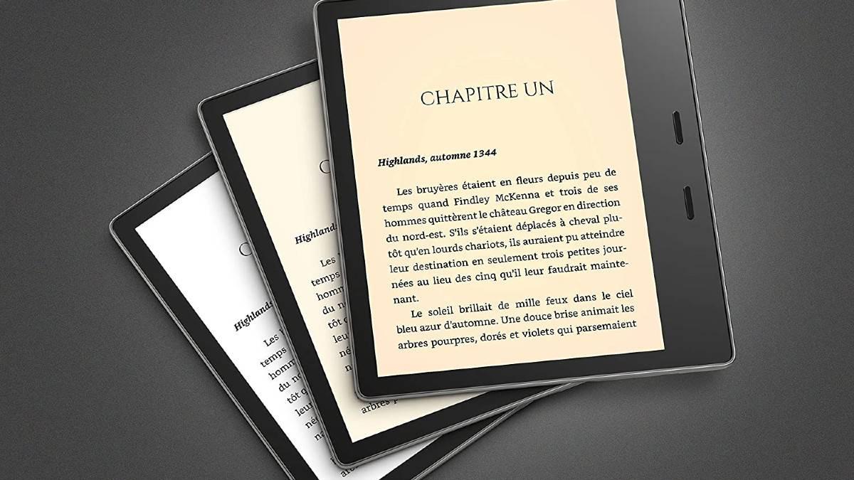La Kindle Oasis peut être paramètrée pour ne pas être éblouie.