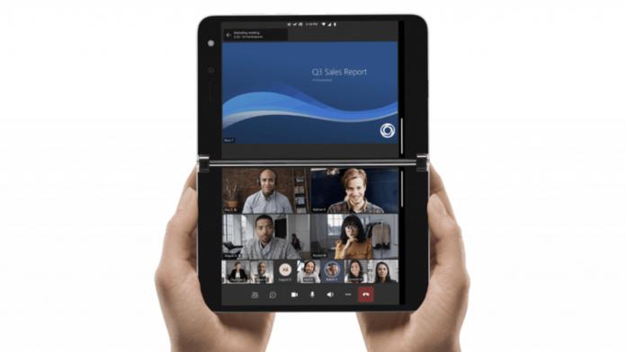 Surface duo smartphone double ecran Microsoft