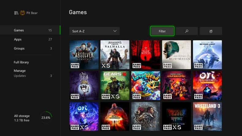 Badge d'optimisation pour la Xbox Series X ou Xbox Series S