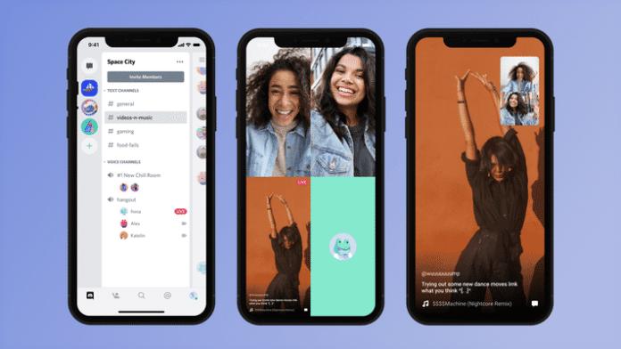 partage ecran discord smartphone