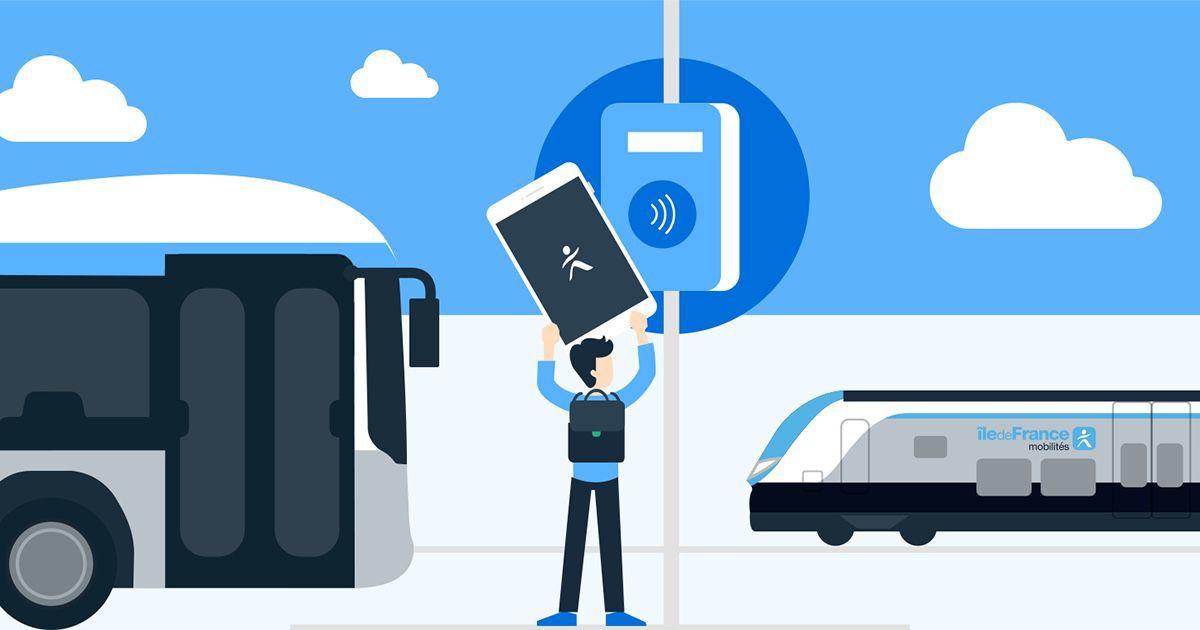 NFC-smartphone-IDFM