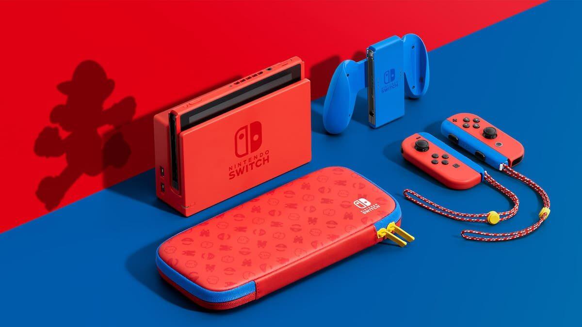L'édition limitée de la Nintendo Switch à l'effigie de Mario