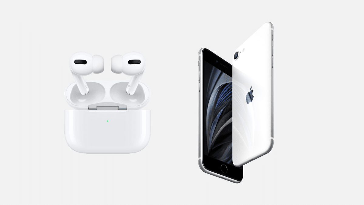 iphone se 2021 airpods pro 2