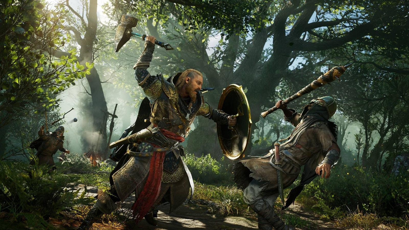 Grosse promotion sur Assassin's Creed Valhalla depuis le site Kinguin.