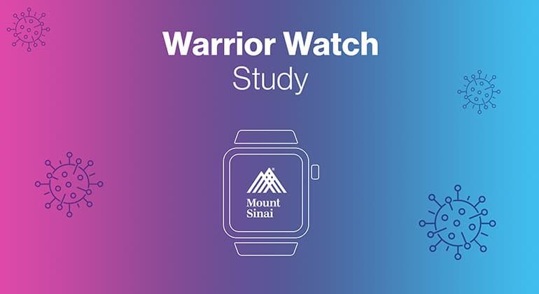 L'étude Mount Sinai avec l'Apple Watch et l'iPhone