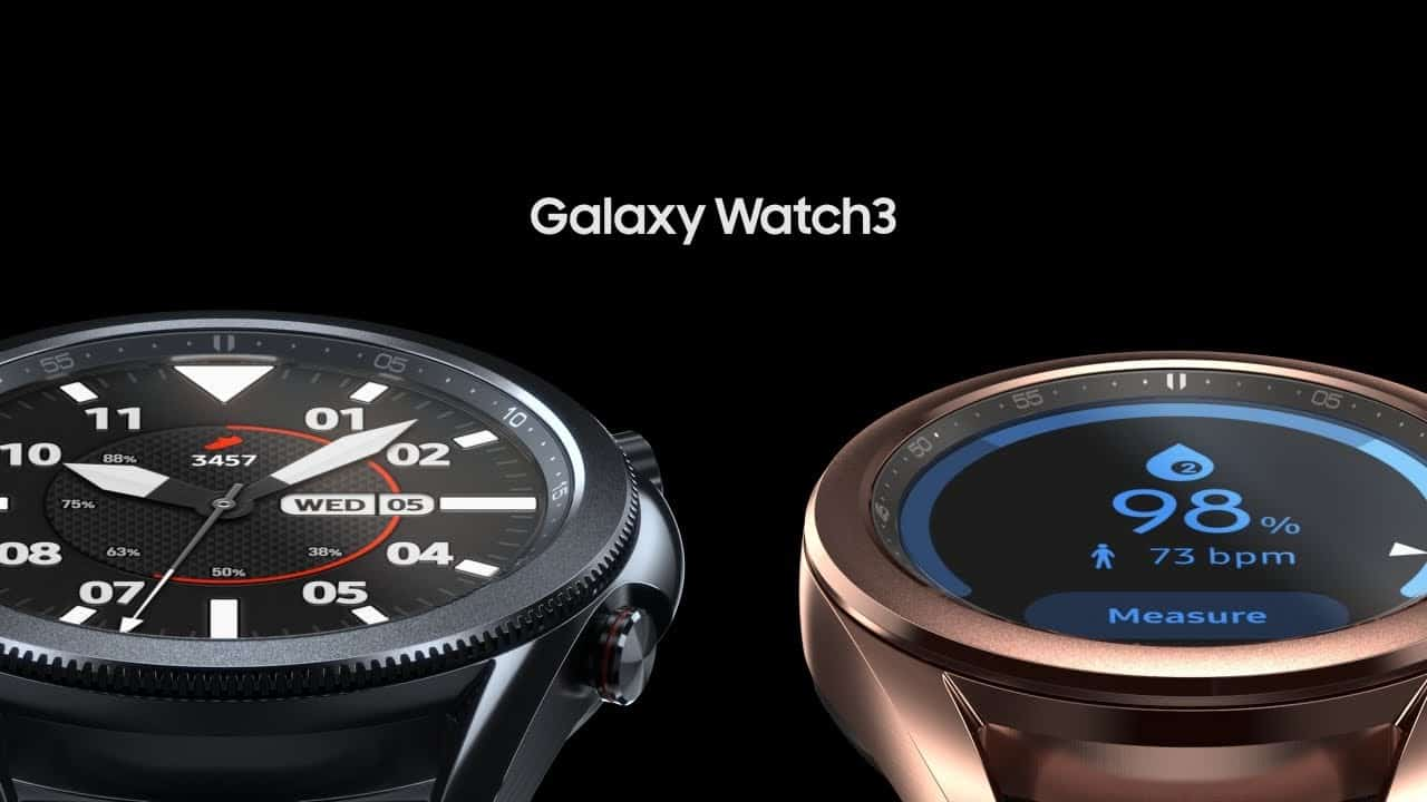 samsung galaxy watch 3 fonctions sante mise a jour