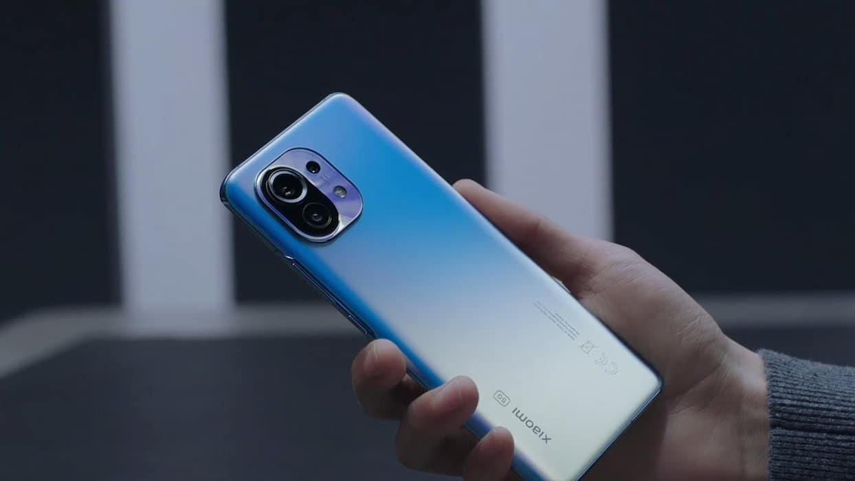 xiaomi mi 11 smartphone 5G Snapdragon 888