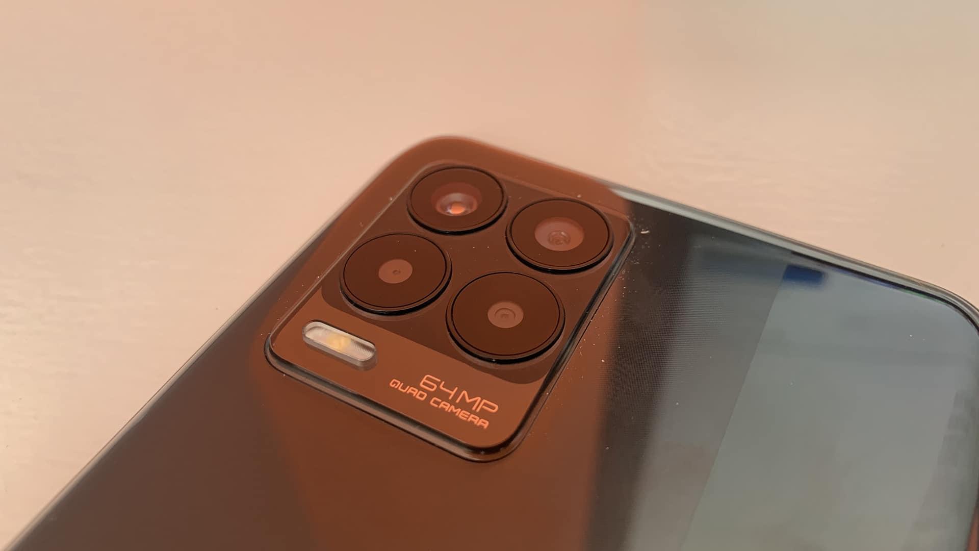 Les capteurs photo du Realme 8.