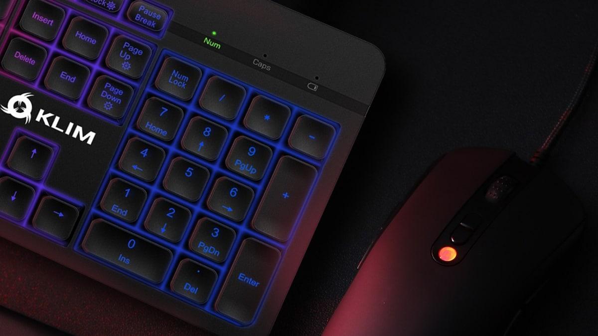 Le Klim LightV2 est un clavier sans fil gaming qui a tout pour plaire même son prix.