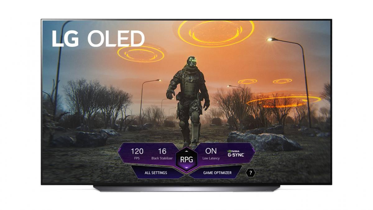 Le Dashboard Gaming de LG