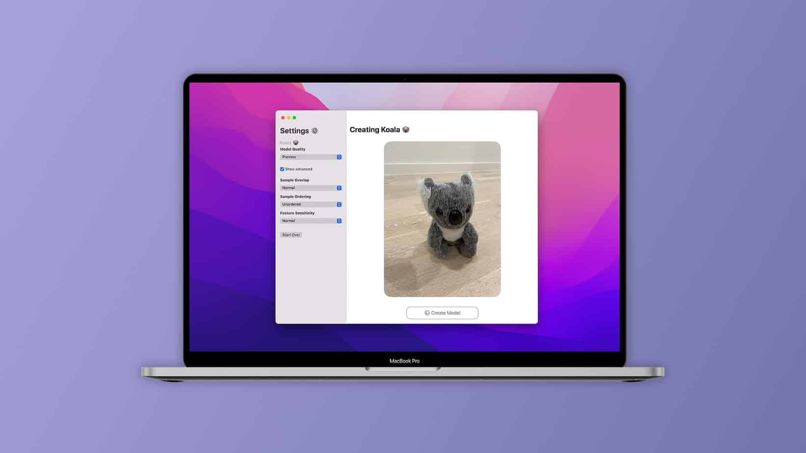 La nouvelle application photocatch de l'API Object permet de modéliser des photos en 3D