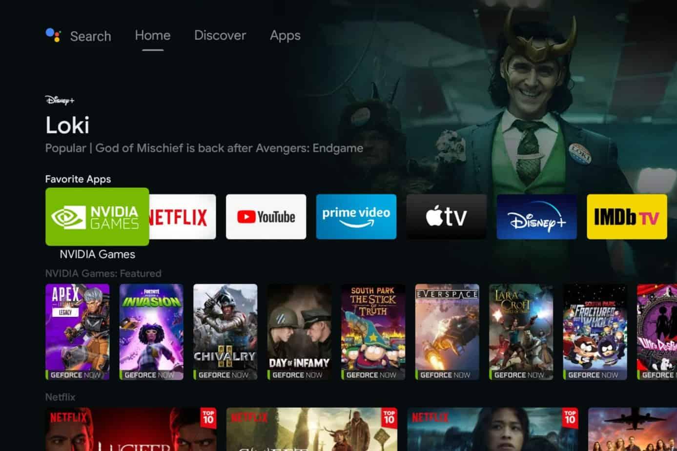 Shield TV se met au gout du jour avec une mise à jour semblabe à Google TV.