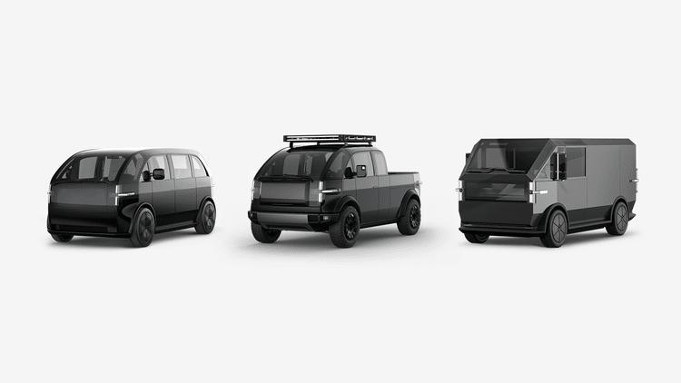 Canoo voitures électriques