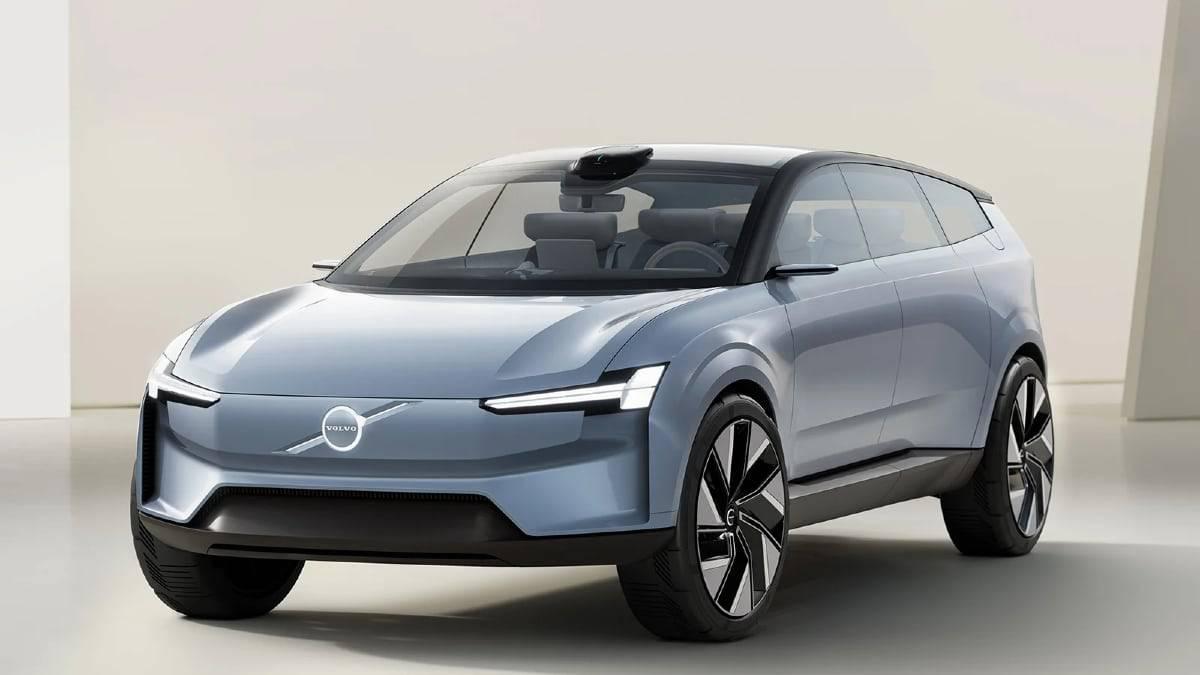Le constructeur dévoile sa gamme Volvo Concept Recharge une voiture éléctrique
