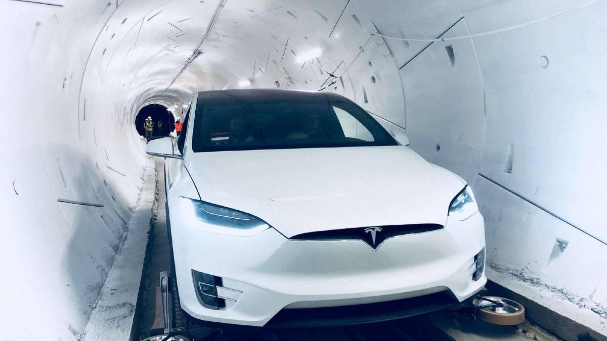 Elon Musk souhaite un tunnel beaucoup plus large que celui de The Boring Compagny