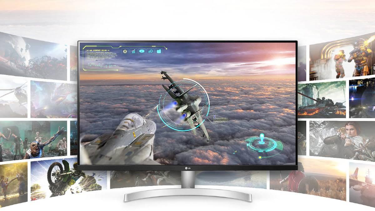 LG UltraFine 32UN500-W promotion Amazon