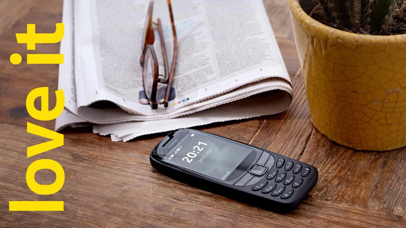 Le Nokia 6310 2021 sortira en aout 2021