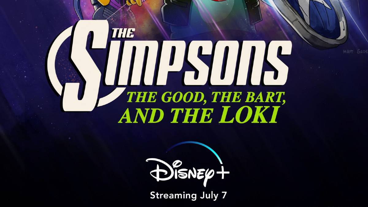 Les simpson se la jouent Marvel sur Disney+