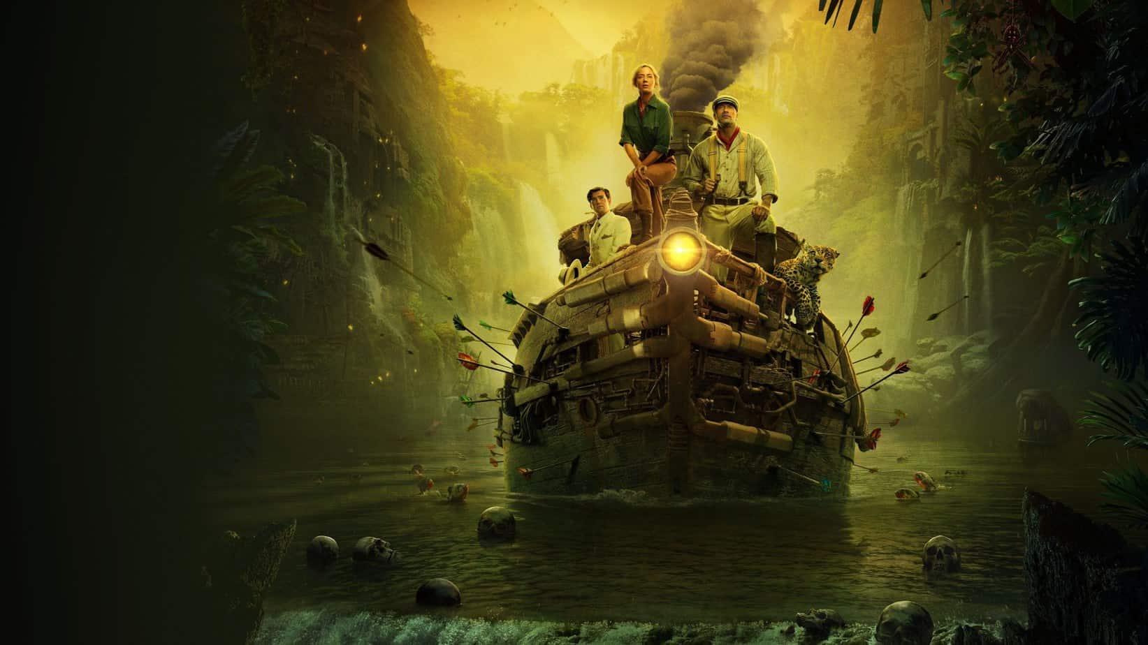 Disney perçoit un tiers des revenus de Jungle Cruise grâce à Disney+
