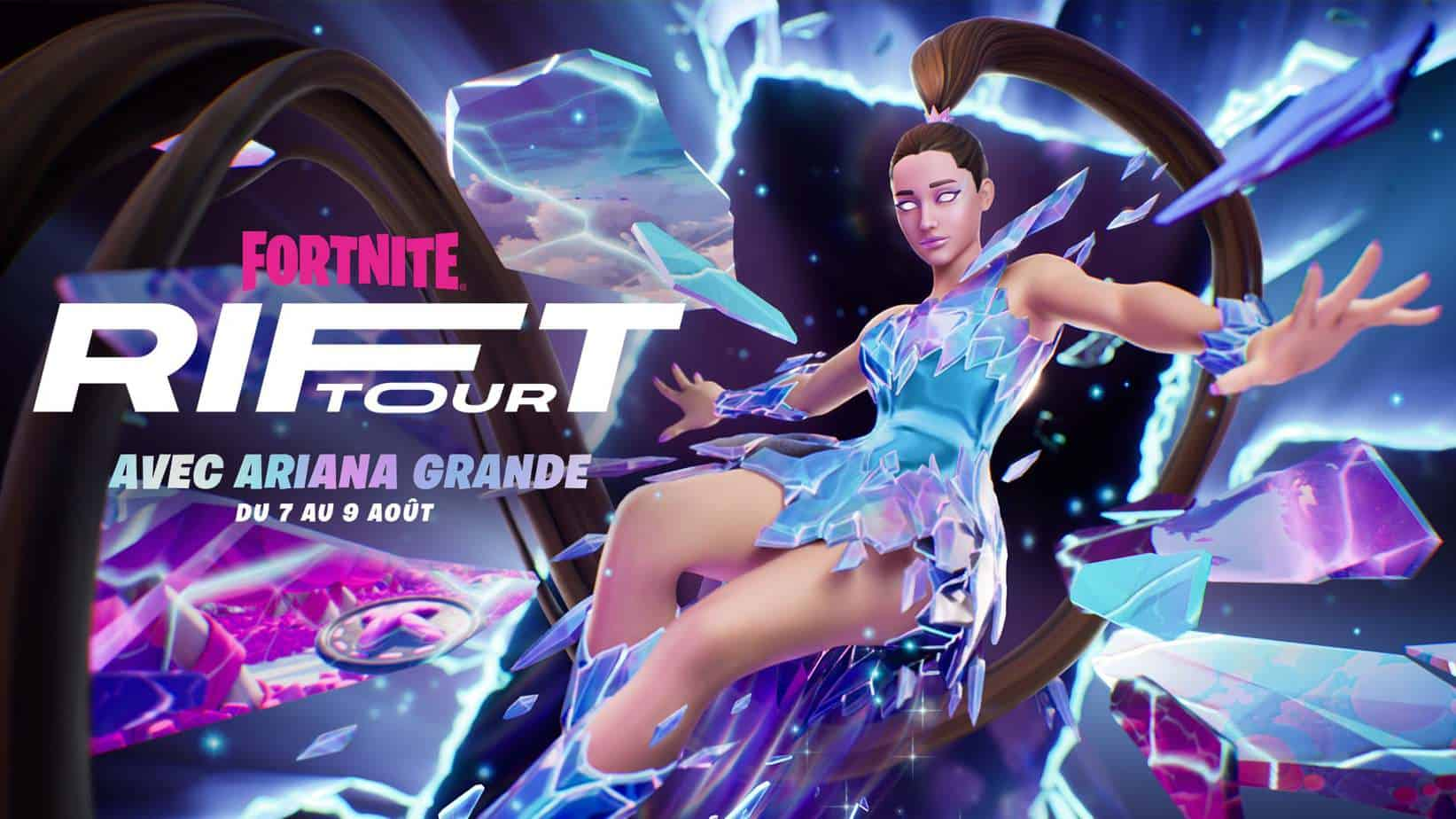 Le Rift Tour de Fortnite pourra compter sur Ariana Grande.