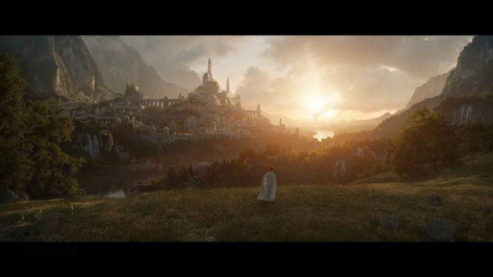 Premier visuel de la série Le Seigneur des Anneaux par Amazon Prime