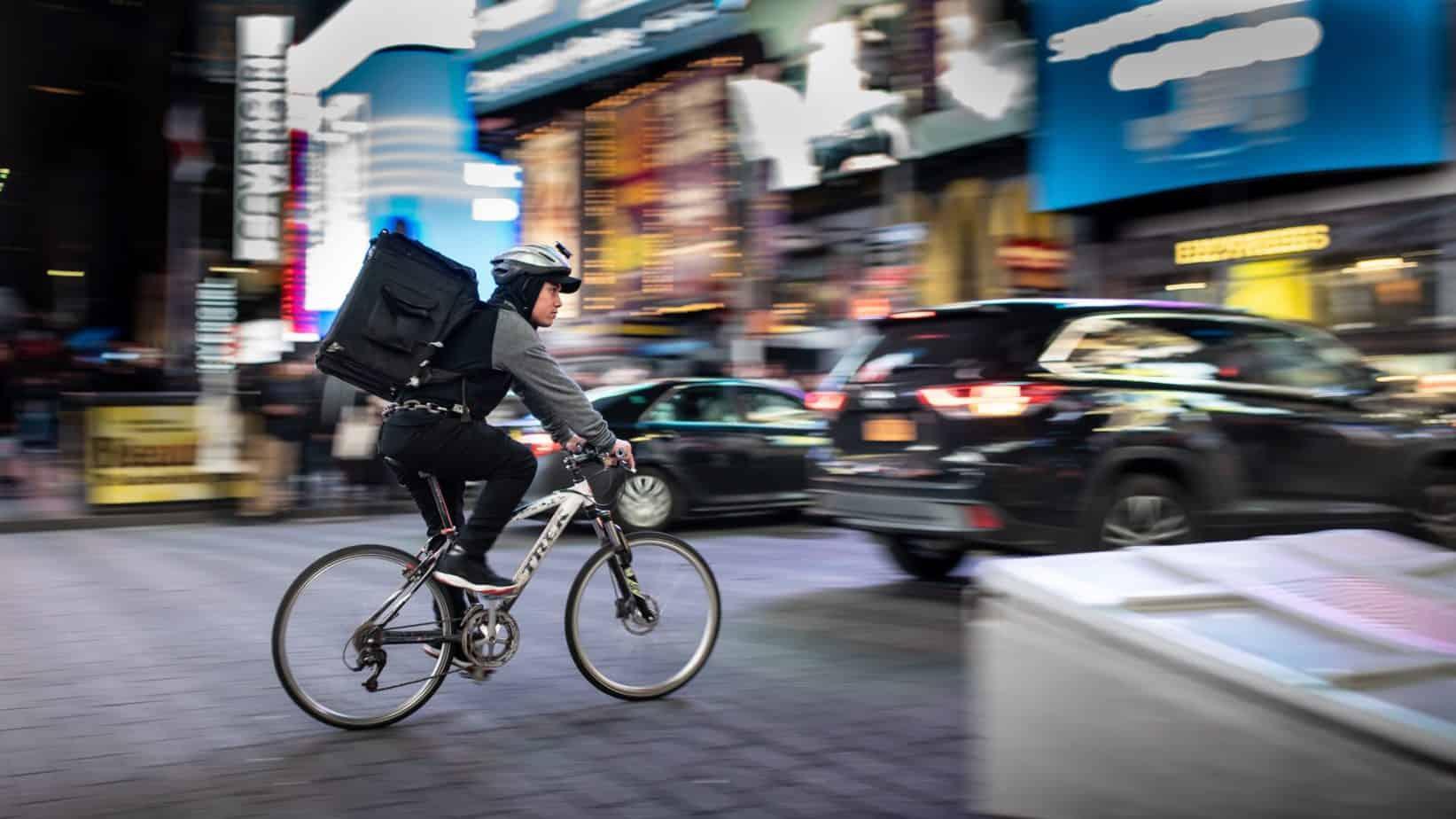 La ville de New York compte protéger au maximum les livreurs à vélo grâce à ces nouvelles lois.