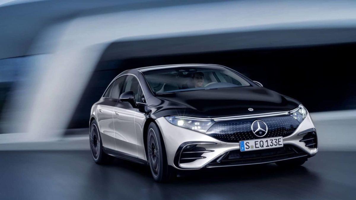Le prix de la Mercedes EQS sera composé de six chiffres.