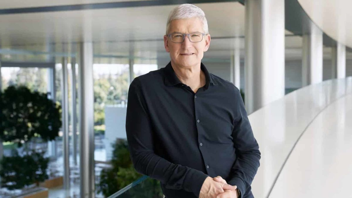Tim Cook, le PDG d'Apple fait partie encore une fois des personnes les plus influentes de 2021.