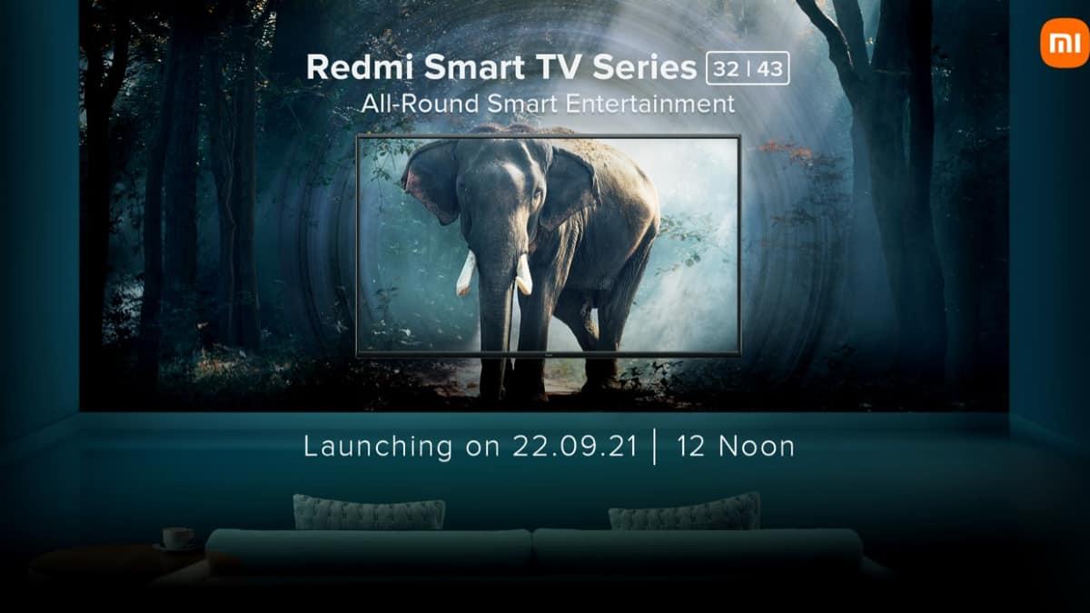 Xiaomi annonce deux téléviseurs sous sa marque Redmi