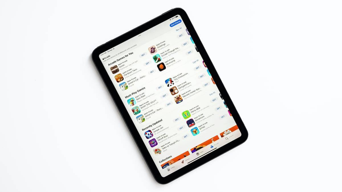 Pour Apple, le Jelly Scroll est normal étant donné que l'écran de l'iPad mini 6 est en LCD.