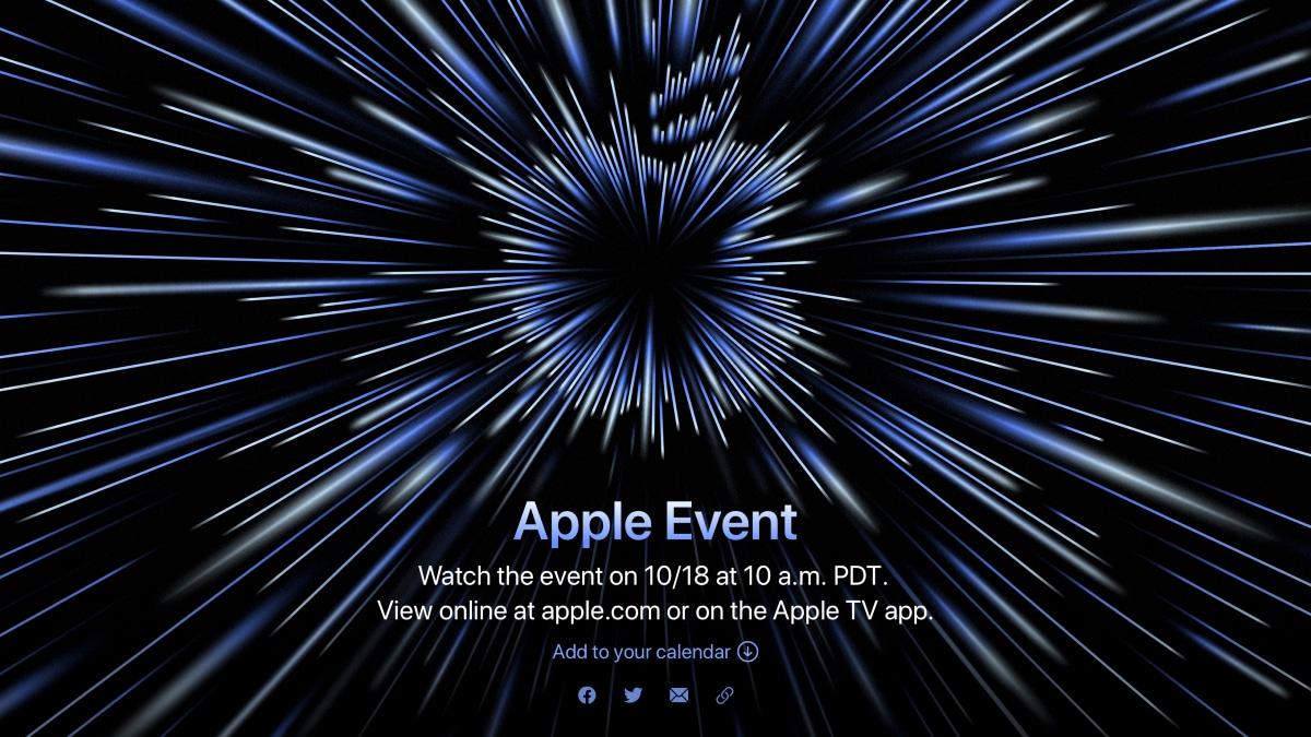 Apple Event octobre 2021
