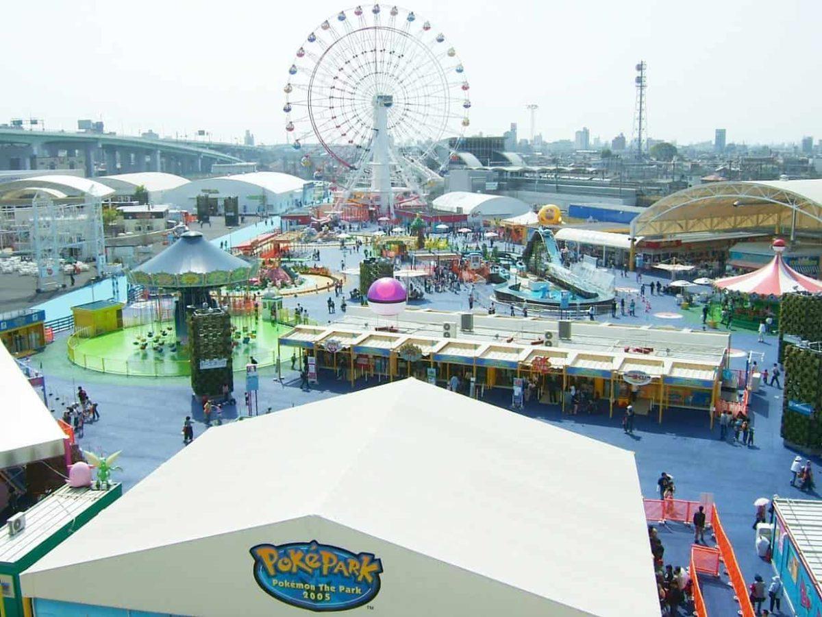 Parc d'attractions Pokémon au Japon en 2022